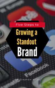 5 Steps to Growing a Standout Brand ebook cover